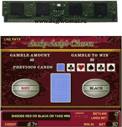 simm flash GAMINATOR баг на удвоение красное - чёрное